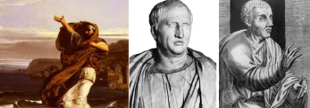 Demonsthenes, Cicero, Quintilian