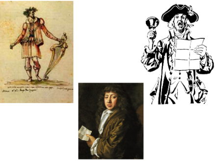 Jacopo Peri, Samuel Pepys & the Town Crier