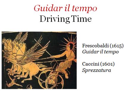 Guidar il tempo