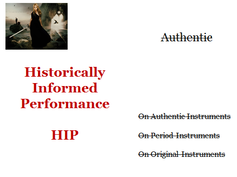 HIP not Authentic