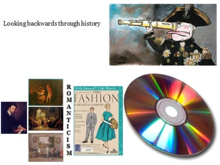 Looking backwards through history