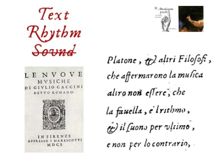 Text, Rhythm and Sound
