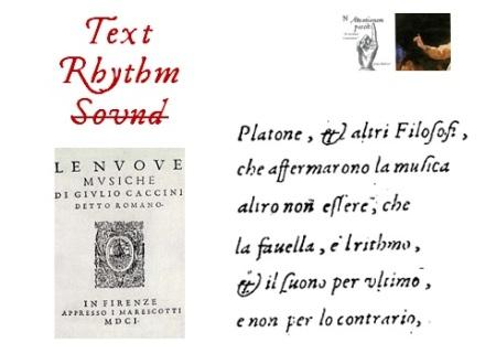 Text, Rhythm and Sound