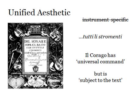Unified aesthetic