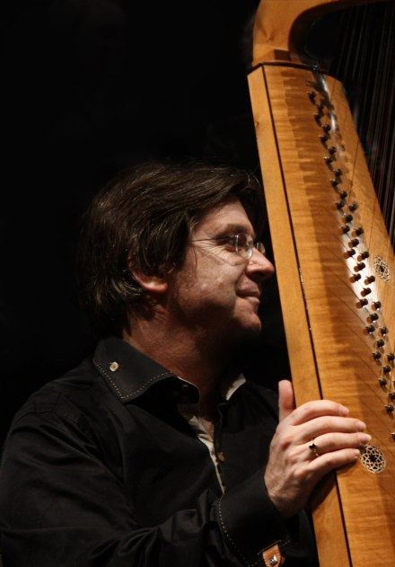 "ALK with Rainer Thurau's ""Zampieri"" Italian baroque harp"