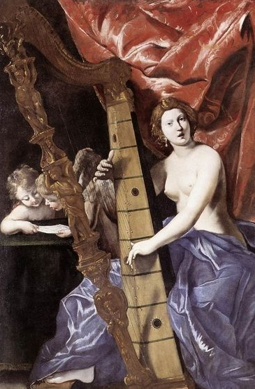 The Barberini harp  (17th century)