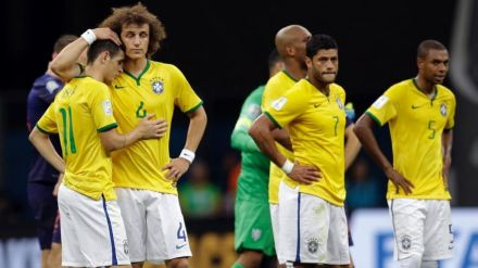 Brazil world cup defeat