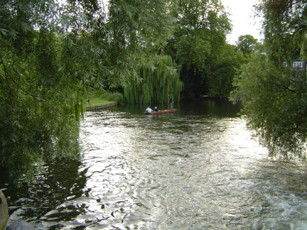 Cambridge river flowing