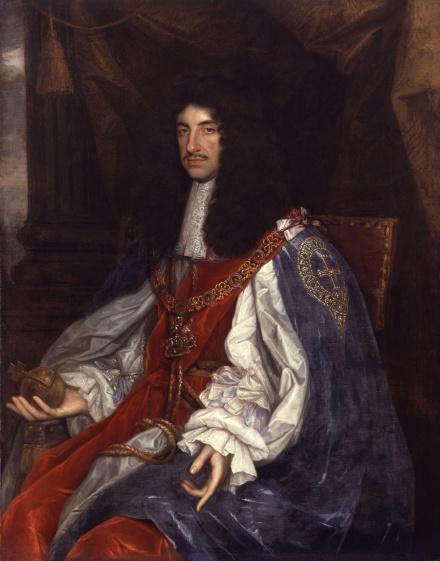 Charles II hands