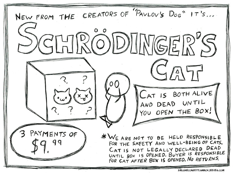 Schrodinger S Cat Joke Explained