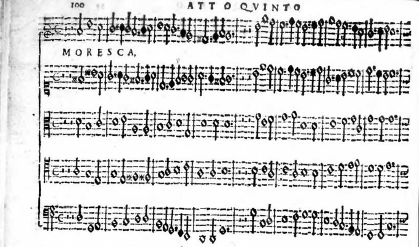 Moresca from Orfeo