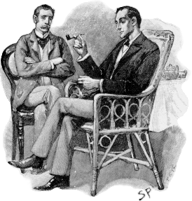 """What do you make of it, Holmes?"" ""It is obviously an attempt to convey secret information."""