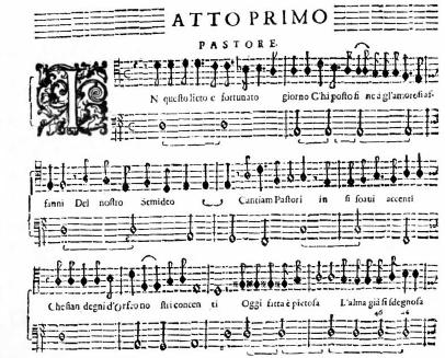 Monteverdi 'Orfeo' Act I