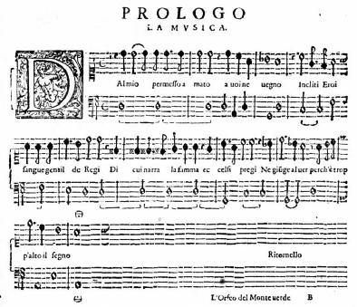 Prologo La Musica