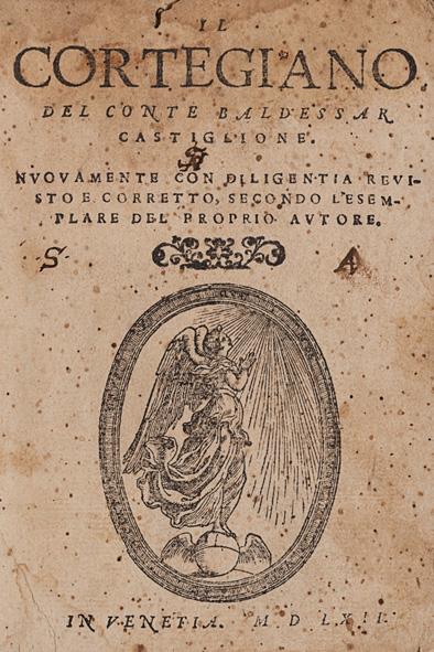 Il Cortegiano frontispiece 1562