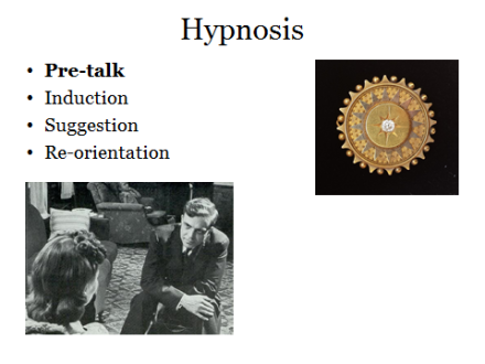 Hypnosis 1: Pre-talk
