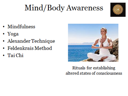 Mind/Body Awareness
