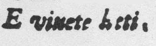 Peri Euridice Preface vale