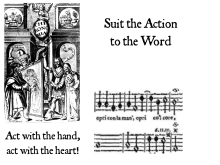 Act with the heart, act with the hand