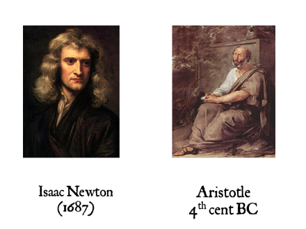Newton and Aristotle
