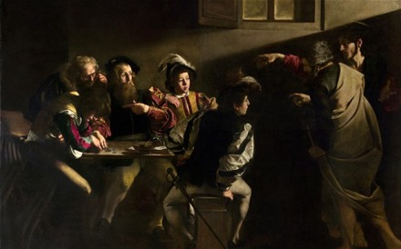 Caravaggio Calling of St Matthew