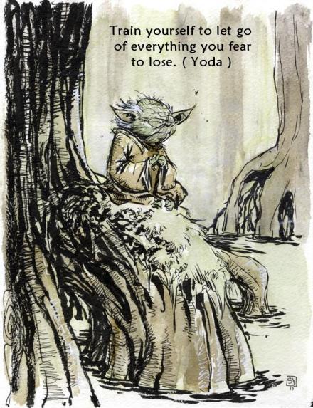 Yoda let go