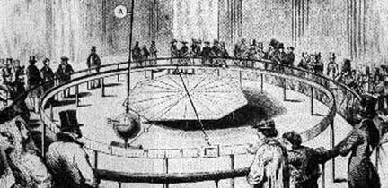 Foucault pendulum 1851