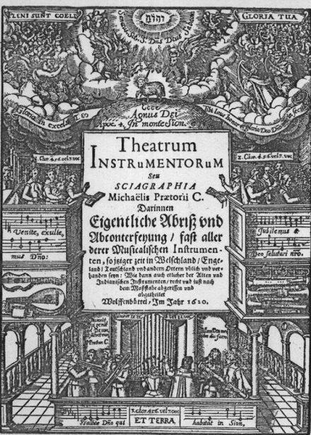 Praetorius Theatrum Instrumentorum