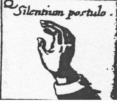 Silentium postulo